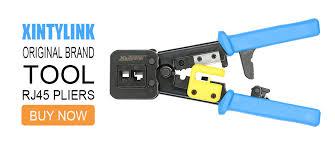 <b>xintylink</b> EZ <b>rj45</b> connector cat6 rj 45 utp ethernet cable plug rg45 ...