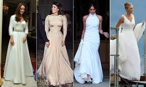Royal <b>brides</b> and their second <b>wedding</b> dresses – from Princess ...