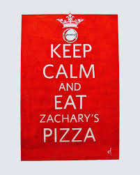 It's a big night! <b>Keep calm and beat</b> the... - Zachary's Chicago Pizza ...