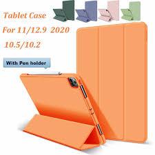 <b>Silicone Tablet Case</b> for <b>Ipad</b> 12 9 11 2020 <b>Ipad</b> 10 2 10 5 <b>Magnetic</b> ...
