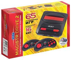 <b>Игровая приставка SEGA</b> Magistr Drive 2 (65 игр) — купить по ...