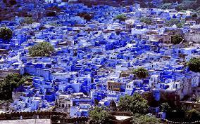 Image result for روستایی به رنگ آبی درشمال مراکش