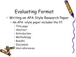dissertation format apa FAMU Online Dissertation format apa