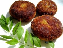 Fish Cutlets With Curry Sauce