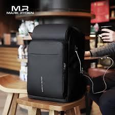 Mark Ryden <b>Men</b> Backpack <b>Multifunction USB Charging</b> 17 Inch ...