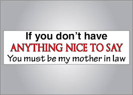 Mother In Law Quotes Funny. QuotesGram via Relatably.com