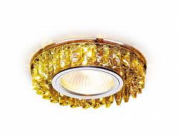Встраиваемый <b>светильник Ambrella light</b> Crystal <b>K330</b> BK – цена ...