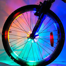 1 Tire Pack <b>Cool</b> Led Kids <b>Bicycle</b> Spoke <b>Lights</b>,Waterproof <b>Bike</b> Tire ...