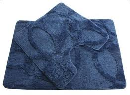 <b>Fixsen FX</b>-<b>0128A</b>-<b>2</b> Blue <b>коврик</b> для ванной, 2 предмета купить в ...