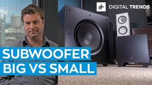 Big Subwoofer <b>vs</b> Small Subwoofer: Comparison - YouTube