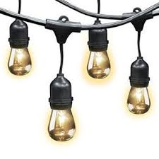 patio cover lights good vintage metro ft  lights ft apart lights w clear bulbs