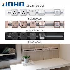 JOHO <b>80CM Socketbar</b> Aluminum Universal Standard EU Plug ...