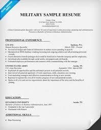 military resume military resume writing