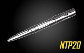 NITECORE NTP20 <b>Titanium Tactical Pen</b> with <b>Tungsten</b> Tip