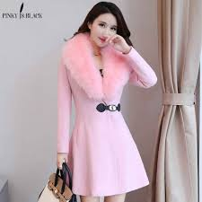 <b>PinkyIsblack 2019</b> Autumn And Winter coat <b>women</b> Woolen ...