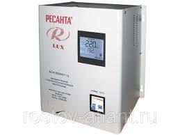 <b>Стабилизатор напряжения АСН</b>-<b>8</b> 000Н/1-Ц Lux (7,41кВт, от140В ...