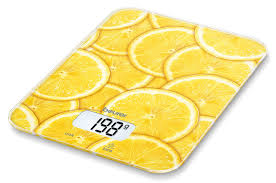 Купить <b>Весы</b> кухонные <b>BEURER KS19</b> lemon, рисунок в интернет ...