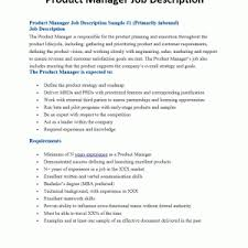 junior product manager resume product manager job descriptions product description junior product manager resume