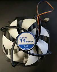 <b>Arctic Cooling Alpine</b> 11 Rev 2 Intel Socket 1155/1156 CPU <b>Cooler</b> ...