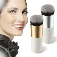 <b>Chubby Pier</b> Foundation Brush Flat Cream Makeup Brushes ...