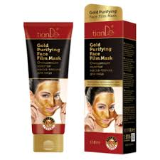 Очищающая золотая <b>маска</b>- <b>пленка для лица</b> TianDe Gold ...