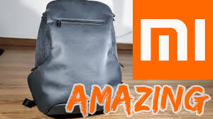 Amazing Tech Bag! Xiaomi Travel Business <b>Backpack</b> - YouTube