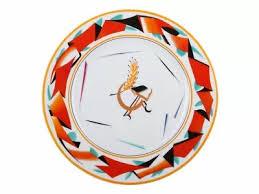 Тарелка <b>декоративная</b> форма Европейская 2 рисунок <b>Красная</b> ...