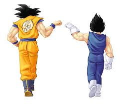Goku & Vegeta fist bump | Dragonball Z | Pinterest