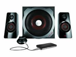 <b>Trust GXT 38</b> Tytan <b>2.1</b> Ultimate Bass Speaker Set - UK Version ...