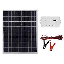 ECO-WORTHY 20 Watts 12V Solar Panel Kit ... - Amazon.com