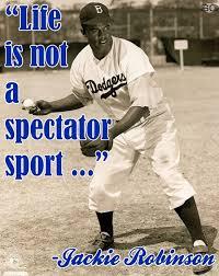 Jackie Robinson Quotes Baseball. QuotesGram via Relatably.com
