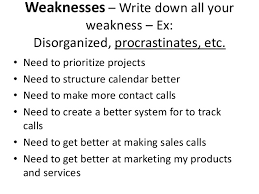 strengths weaknesses opportunities and threats  4 weaknesses