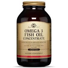 <b>Omega</b>-<b>3 Fish Oil</b> Concentrate Softgels - <b>Solgar</b>