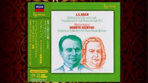 <b>Henryk Szeryng</b> - <b>Bach</b>: The Violin Concertos (1976) [SACD, 2016 ...