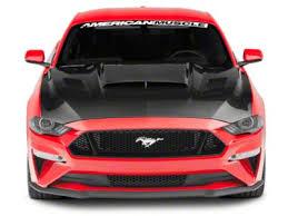 Anderson Composites Mustang Ram Air Hood - <b>Carbon Fiber</b> AC ...