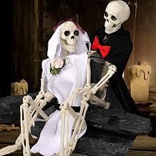 16 Hanging <b>Pumpkin Skeleton</b> Fun <b>Halloween Decorations</b>
