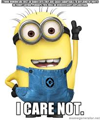 I think Minion are just so darn cute they are easily adaptable to ... via Relatably.com
