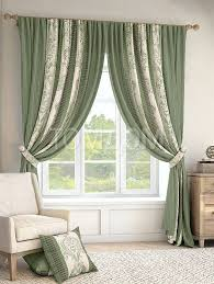 <b>Комплект штор</b> «Иниц (зелен.)» | Дизайн занавеса, Шторы и ...