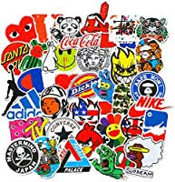 <b>100 Pcs Fashion</b> Brand Stickers for Laptop Stickers Motorcycle ...
