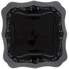 "<b>Тарелка десертная Luminarc ""Authentic</b> Silver Black"", 20 х 20 см ..."