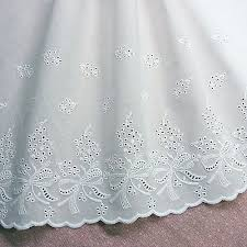 Details about <b>1Yd</b> Lovely <b>Ribbon</b> Embroidered Cotton <b>Lace Trim</b> ...