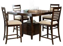 dining room counter piece cherry standard furniture avion  piece counter dining room set in cherry trad