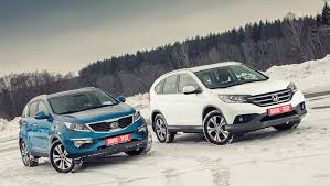 Выясняем, для чего лучше подходят Honda CR-V и <b>Kia Sportage</b> ...
