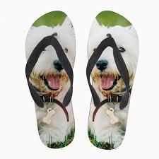 Customized <b>Men Cute Pet Dog</b> Home Shoes West Highland White ...