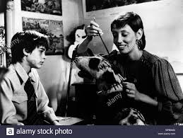 barret oliver stock photos barret oliver stock images alamy barret oliver sparky shelley duvall frankenweenie 1984 stock image