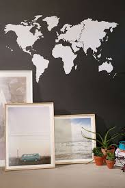 sun wall decal trendy designs: walls need love world map wall decal urban outfitters