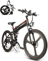 "<b>SAMEBIKE</b> LO26YT Electric Mountain Bike 26"" Wheel <b>Folding</b> Ebike ..."