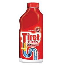 """<b>Средство</b> для удаления засоров <b>Tiret</b> """"<b>Turbo</b>"""", 500 мл — Бытовая ..."""