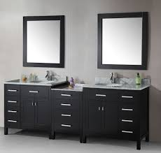 dual vanity bathroom: marvelous dual bathroom vanity sink layout vanities  inches and cabinets height white ideas
