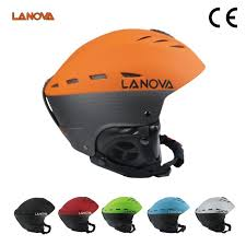 <b>LANOVA Brand Professional</b> Orange Adults <b>Ski</b> Helmet Adult <b>Ski</b> ...